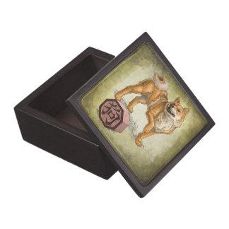 Year of the Dog Chinese Zodiac Animal Premium Keepsake Box