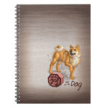 Year of the Dog Chinese Zodiac Art Spiral Note Books