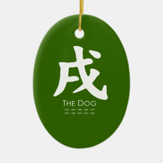Year of the Dog Christmas Ornaments
