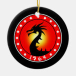 Year of the Dragon 1964 Christmas Ornament