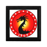 Year of the Dragon 1964 Jewelry Box