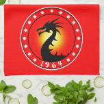 Year of the Dragon 1964 Towel