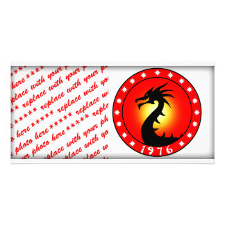 Year of The Dragon 1976 Personalized Photo Card