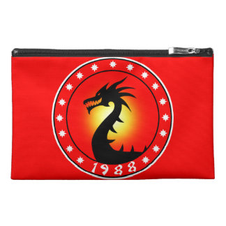 Year of The Dragon 1988 Travel Accessory Bags