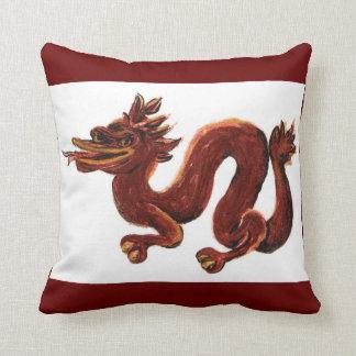 Year Of The Dragon 2012 American MoJo Pillow