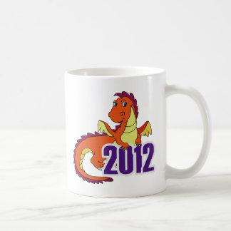 Year of the dragon 2012  chinese new year coffee mug