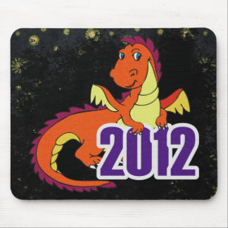 Year of the dragon 2012  chinese new year mouse pad