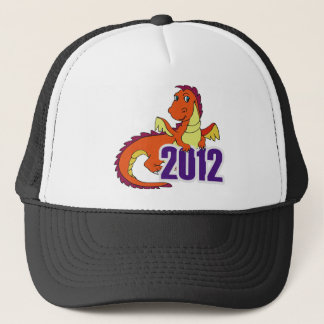 Year of the dragon 2012  chinese new year trucker hat