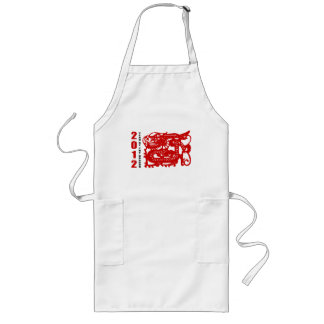 Year of The Dragon 2012 Gift Long Apron