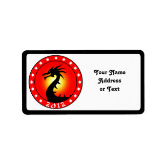 Year of the Dragon 2012 Label
