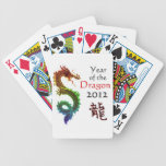 Year of the Dragon 2012 Playing Cards Bicycle Playing Cards