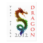 Year of the Dragon 2012 Post Card