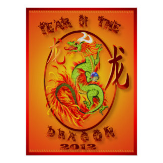 Year Of The Dragon-2012  Poster