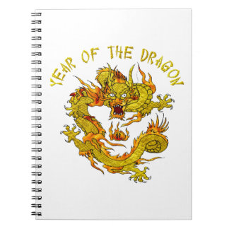 Year Of The Dragon 3 Notebook