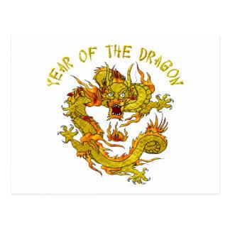 Year Of The Dragon 3 Postcard