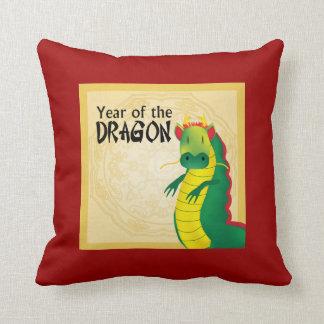 Year of the Dragon American MoJo Pillow