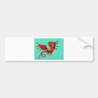 Year of the Dragon Bumper Sticker
