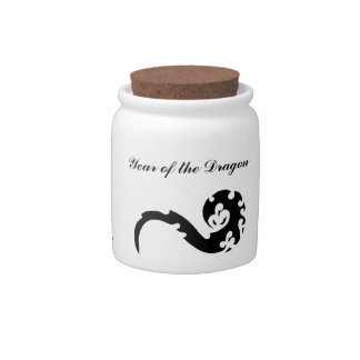 Year of the Dragon Candy Jars