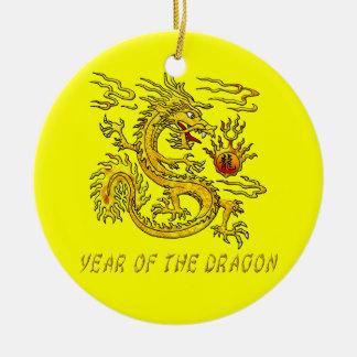 Year Of The Dragon Ceramic Ornament