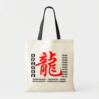 Year of The Dragon Characteristics Bags