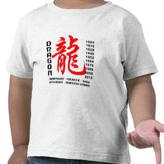 Year of The Dragon Characteristics T-Shirt T Shirt