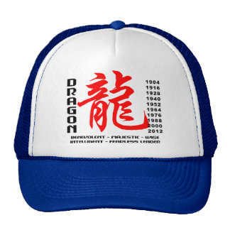 Year of The Dragon Characteristics Trucker Hat