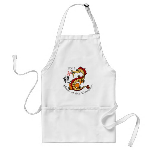 Year of the Dragon (Chinese) 2012 Adult Apron