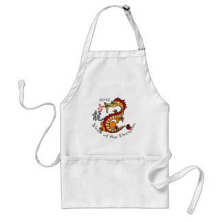 Year of the Dragon Chinese 2012 Aprons