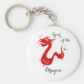 Year of the Dragon Chinese Horoscope Magnets Keychain