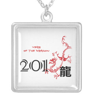 Year of the dragon, Chinese New Year 2012 necklace