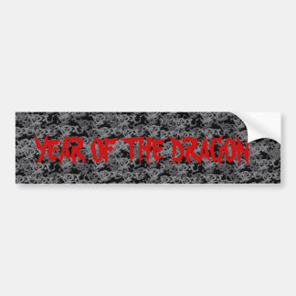 Year of the Dragon - Chinese New Year Bumper Stickers