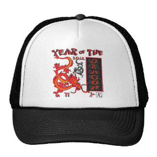 Year Of the Dragon - Chinese New Year Hats