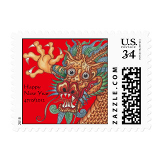 Year of the Dragon ~ Chinese New Year Postage