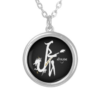 Year of the Dragon - Chinese Zodiac Round Pendant Necklace
