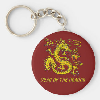 Year Of The Dragon Keychain