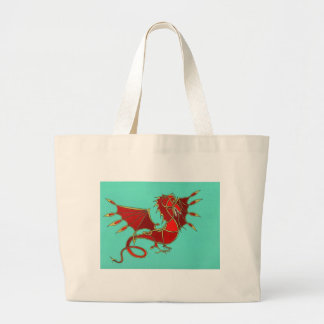 Year of the Dragon Large Tote Bag