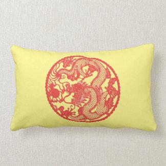 """""""Year of the Dragon"""" Lumbar Pillow"""