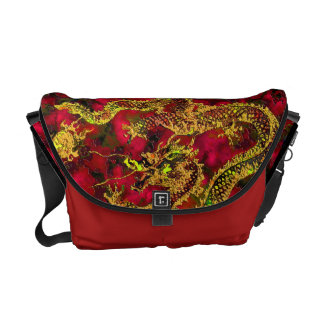 Year of the Dragon: On Ruby Flames Commuter Bag