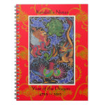Year of the Dragon Personalized Notebook