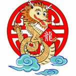 Year of the Dragon Photo Cut Outs