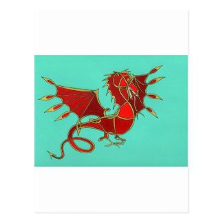 Year of the Dragon Post Card