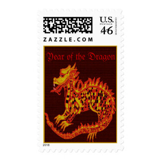Year of the Dragon Postage Stamp