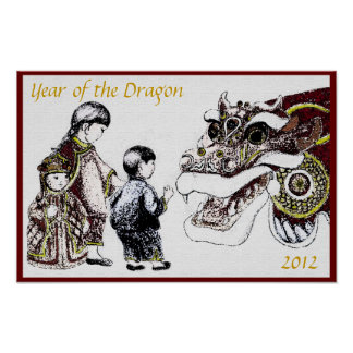 Year of the Dragon Poster