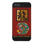 Year of the Dragon rectangle iPhone 5 Case