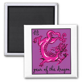 Year Of The Dragon Refrigerator Magnets