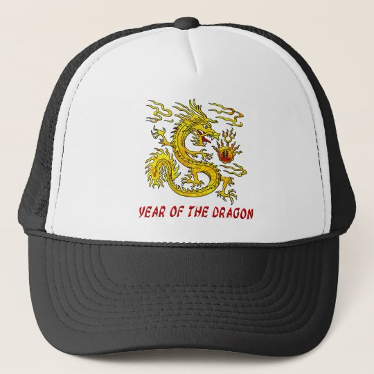 Year Of The Dragon Trucker Hat