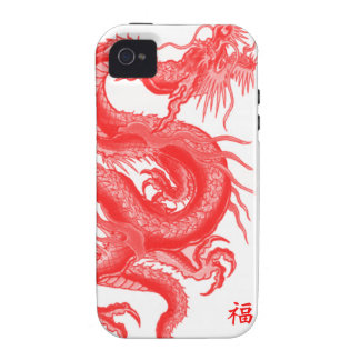 Year of The Dragon Vibe iPhone 4 Cover