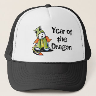 Year of the Dragon Westie Trucker Hat