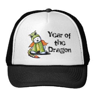 Year of the Dragon Westie Trucker Hat