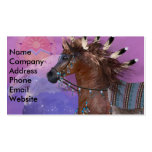 Year of the Eagle Horse Business Card